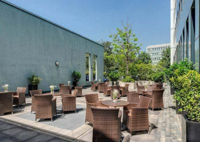 Park Inn by Radisson Köln City West Terrasse
