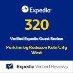 Auszeichnung Expedia Park in by Radisson Köln City West